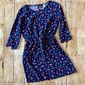 Divided H&M blue Floral print dress
